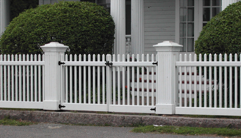 Classic Picket Gates