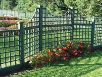 Trellis Garden Fence
