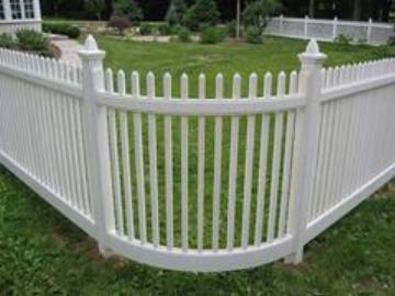 Radius Picket Fence