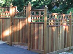 Solid Board Gates