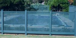 Privacy Lattice Pool Fence