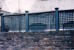Custom Privacy lattice Fence