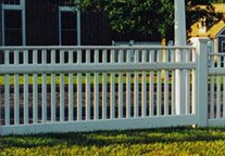 Picket Fence Cambridge Design