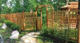 Garden Fencing Garden Arbors Pergolas Gates Privacy Lattice