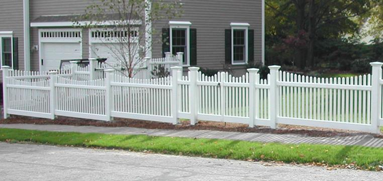Picket Fence Double Gate In Inspiration Decorating